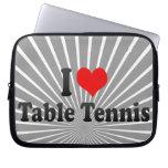Amo tenis de mesa fundas computadoras