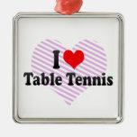 Amo tenis de mesa ornamento de reyes magos
