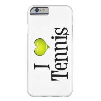 Amo tenis funda para iPhone 6 barely there
