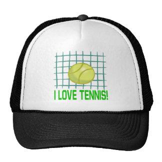 Amo tenis gorros