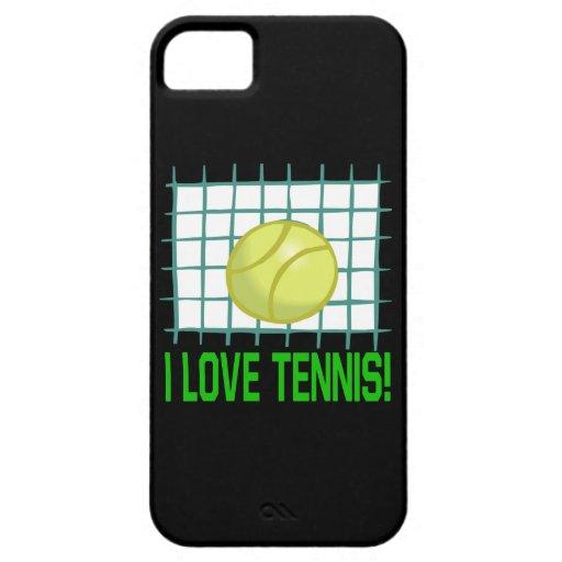 Amo tenis iPhone 5 cárcasa