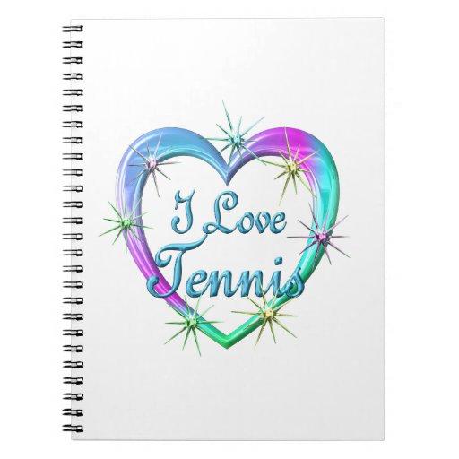 Amo tenis libro de apuntes