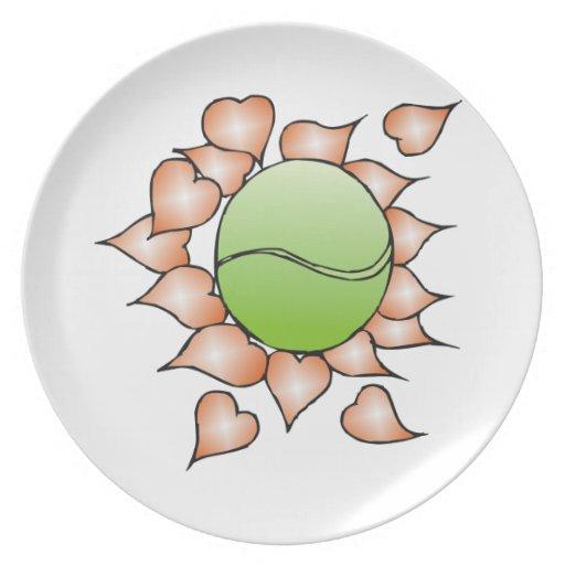 Amo tenis platos de comidas