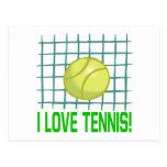 Amo tenis postales