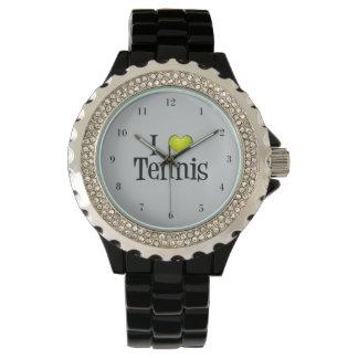 Amo tenis relojes de pulsera