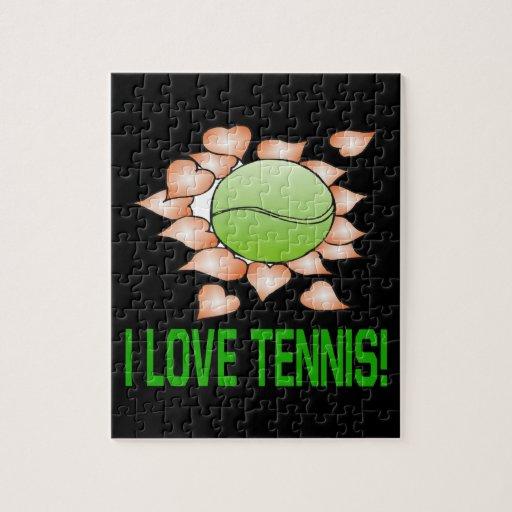 Amo tenis rompecabeza