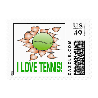 Amo tenis sello