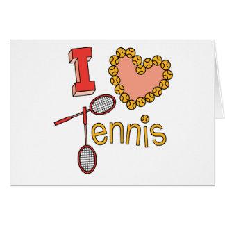 Amo tenis tarjeton