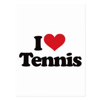 Amo tenis postal