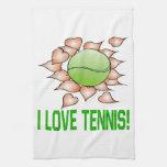 Amo tenis toalla de mano