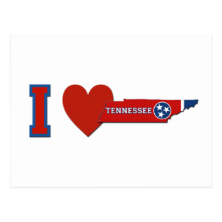 Amo Tennessee Postales