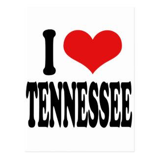 Amo Tennessee Tarjeta Postal