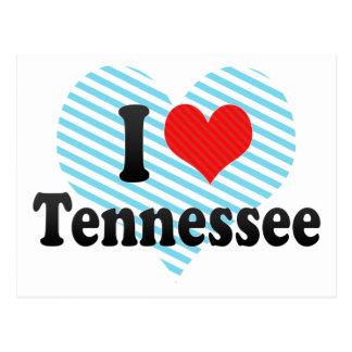 Amo Tennessee Tarjetas Postales