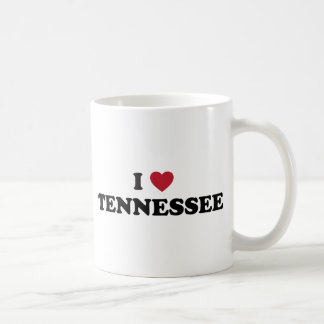 Amo Tennessee Taza Básica Blanca