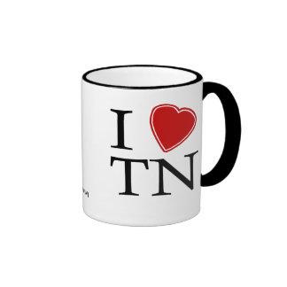 Amo Tennessee Taza A Dos Colores
