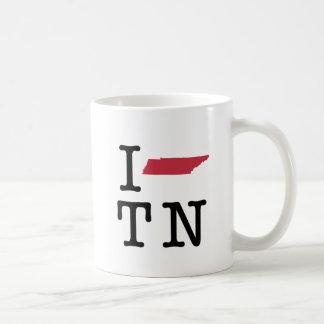 Amo Tennessee Tazas De Café