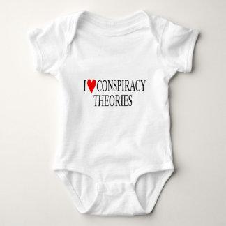 Amo teorías de conspiración body para bebé