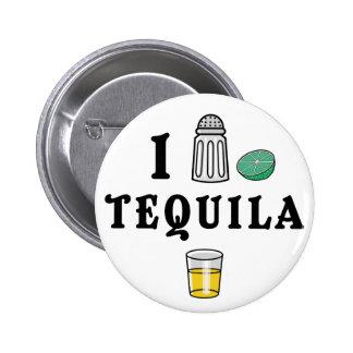 Amo Tequila Pin Redondo De 2 Pulgadas