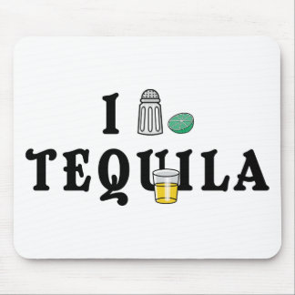 Amo Tequila Alfombrilla De Ratones