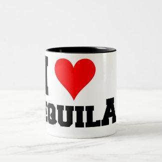 Amo Tequila Taza De Dos Tonos