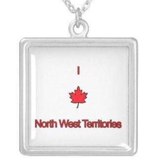 Amo territorios del noroeste colgantes