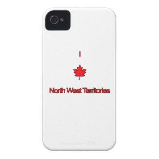 Amo territorios del noroeste iPhone 4 Case-Mate cárcasas