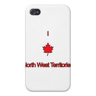Amo territorios del noroeste iPhone 4/4S carcasa