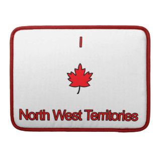 Amo territorios del noroeste fundas para macbook pro