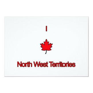 """Amo territorios del noroeste invitación 5"""" x 7"""""""