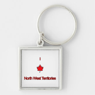 Amo territorios del noroeste llavero personalizado