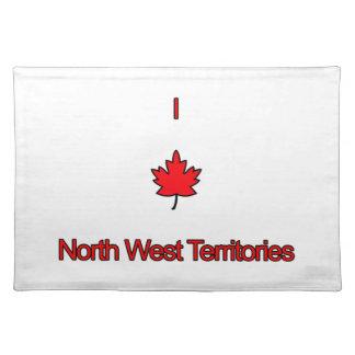 Amo territorios del noroeste manteles individuales