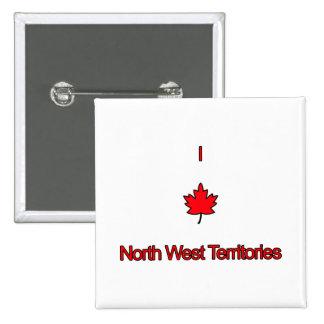 Amo territorios del noroeste pins