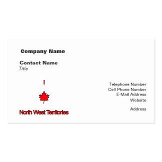 Amo territorios del noroeste tarjetas personales