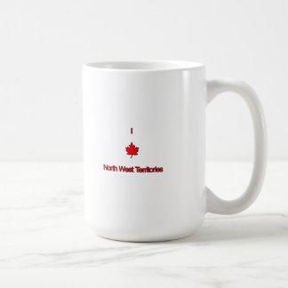 Amo territorios del noroeste taza de café