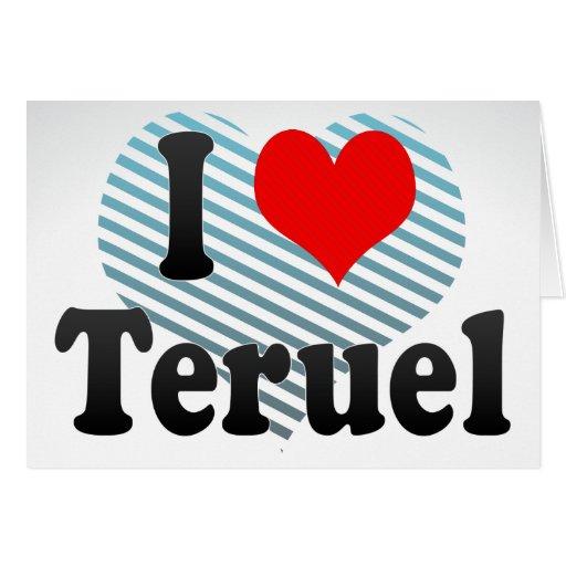 Amo Teruel, España Tarjeton