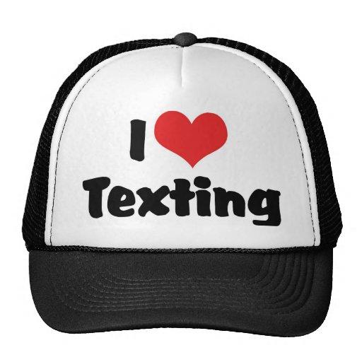 Amo Texting Gorras