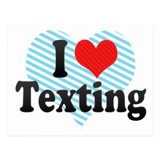 Amo Texting Tarjetas Postales