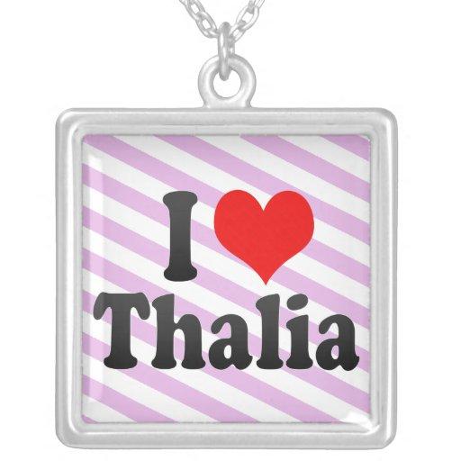 Amo Thalia Colgante Cuadrado