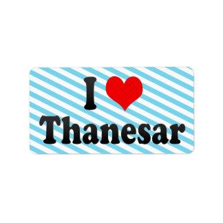 Amo Thanesar, la India. Mera Pyar Thanesar, la Ind Etiqueta De Dirección