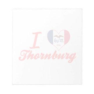 Amo Thornburg, Iowa Blocs De Notas