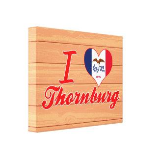 Amo Thornburg, Iowa Impresiones De Lienzo
