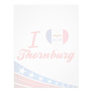 Amo Thornburg, Iowa Membrete A Diseño