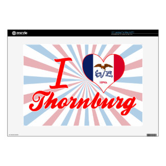 Amo Thornburg, Iowa Skins Para Portátil