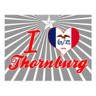 Amo Thornburg, Iowa Tarjeta Postal