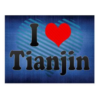 Amo Tianjin, China. Wo Ai Tianjin, China Tarjetas Postales