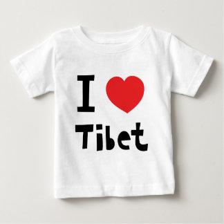 Amo Tíbet Playera De Bebé