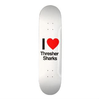 amo tiburones de trilladora patin personalizado