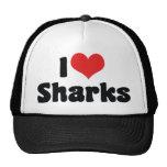 Amo tiburones gorra