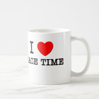 Amo tiempo de cara taza