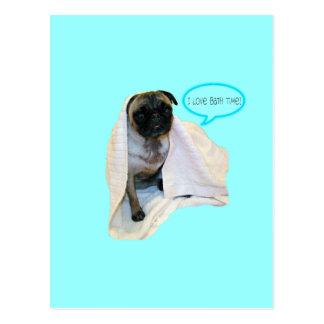 ¡Amo tiempo del baño! Tarjetas Postales